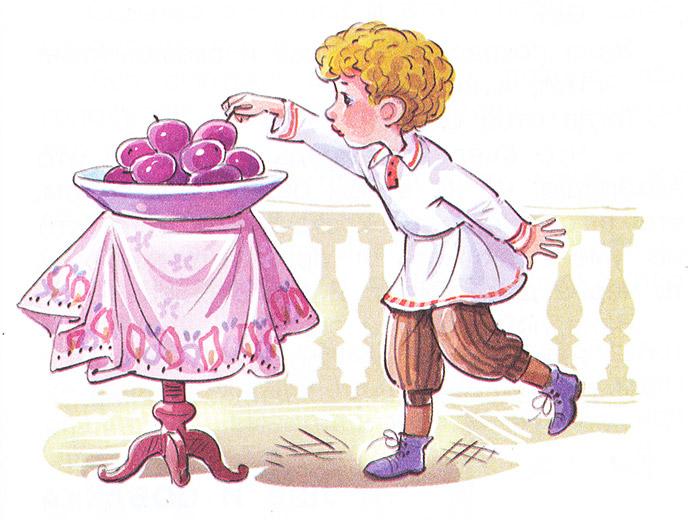 Иллюстрация к рассказу Косточка