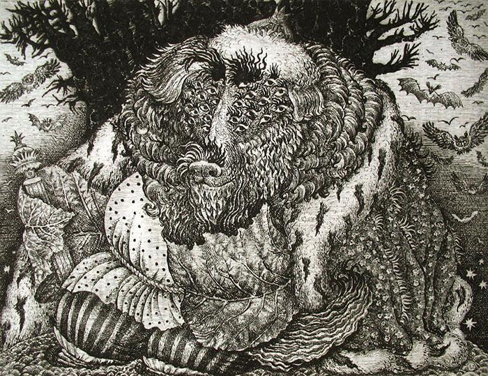 Иллюстрация к сказке Звериный царь