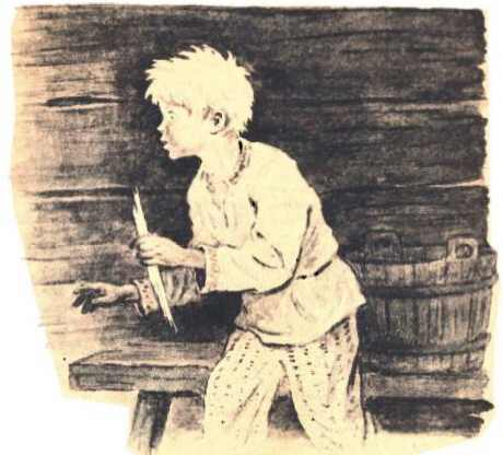 Иллюстрация к сказке Трусливый Ваня