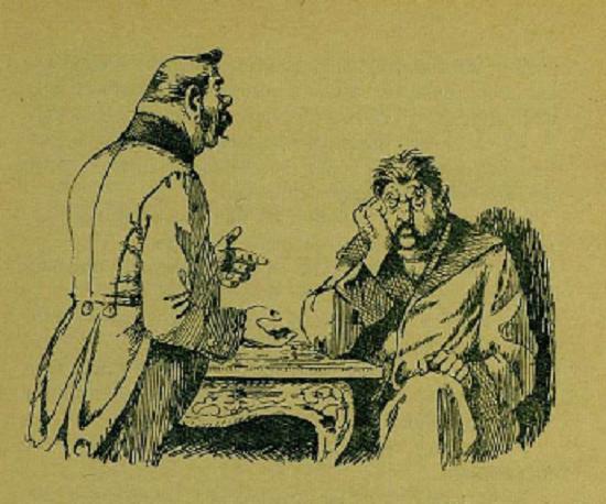 Иллюстрация к сказке Дикий помещик