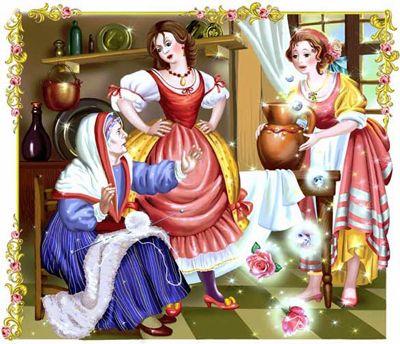 Иллюстрация к сказке Подарки феи